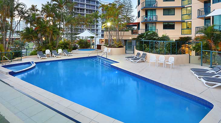 Peninsular Mooloolaba Resort Features
